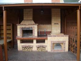 Изготовление каминов, печей, мангалов, беседок